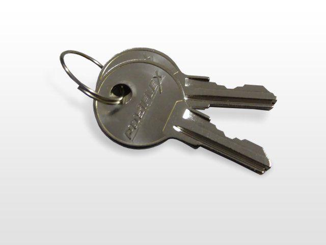 Posiflex CR3000 / CR4000 Series Cash Drawer Spare Key Set of 2
