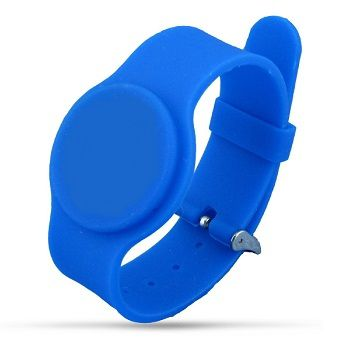 Cardnet Wristband - Silicon, LF, 134.2KHZ, Adjustable, Blue