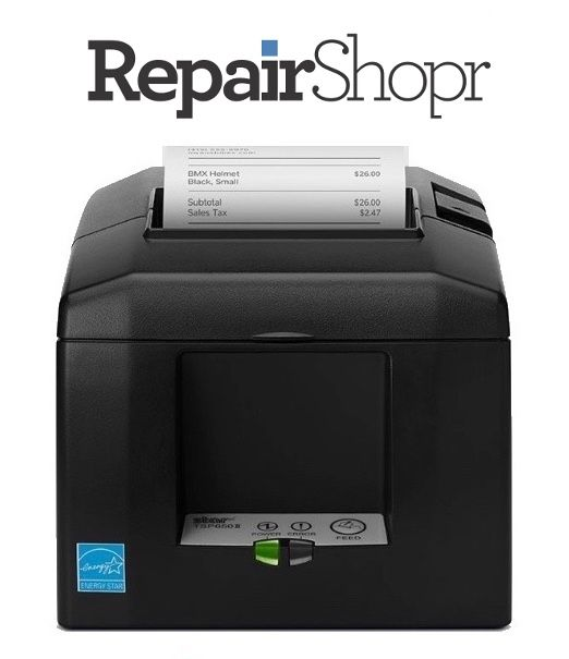 RepairShopr Point of Sale iPad Compatible Receipt / Docket Printer (With Autocutter)