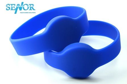 Senor RFID Wristband 125 kHz Dark Blue Watch Type
