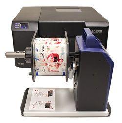 Primera RW-7 Label Rewinder - Up to 177.8mm wide Labels - 74289