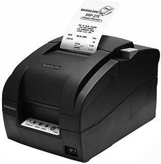 Obsolete - Bixolon SRP-275II Dot Matrix Printer With Tear Bar Dark Grey