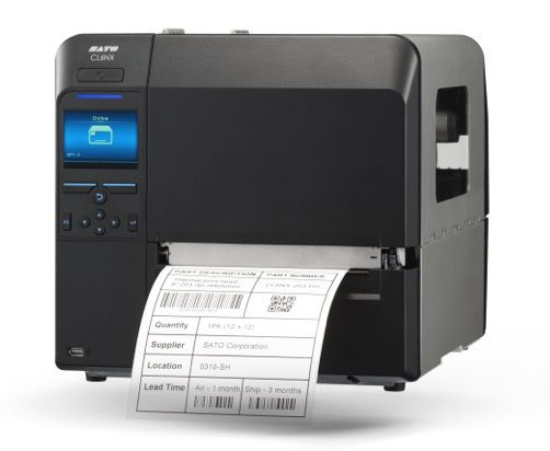 SATO CL6NX Industrial 6 inch Thermal Label Printer (IEEE 1284, USB, LAN, Serial/RS232) with Bluetooth