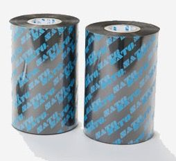 SATO Wax Resin Ribbon 104mm X 300m X 25mm Core/Ink Out  - Green, Blue or Red