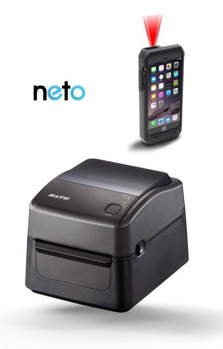 Neto Pick & Pack Compatible Barcode Scanner & Label Printer Bundle