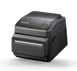 SATO WS408 DT Direct Thermal 4 inch Label Printer With Auto Cutter (203dpi, USB, LAN, Serial/RS232)