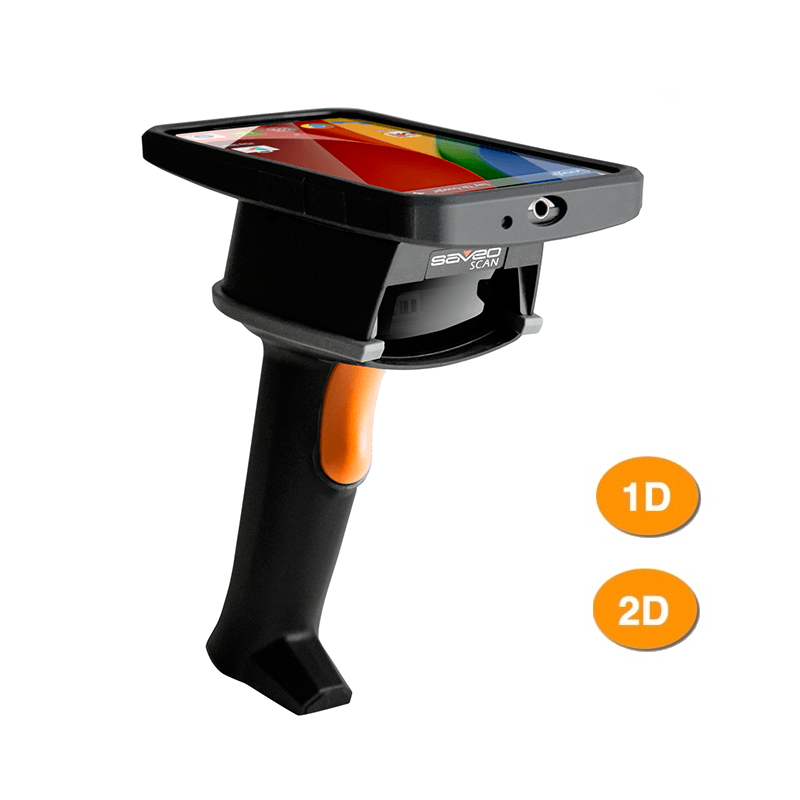 Saveo BOLT Universal Bluetooth Smartphone and Tablet Barcode Scanner Kit