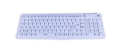 Seal Keyboard 106K IP68, USB, White or Black
