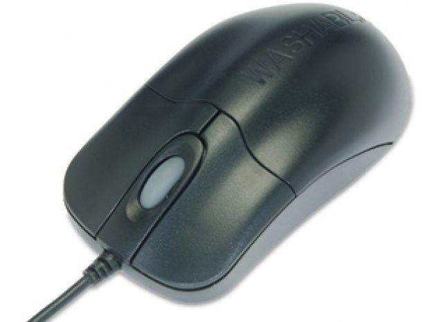 SEAL Medical Grade Mouse, IP68, Scroll, USB, Black