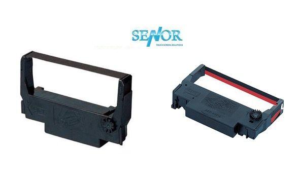 Senor Docket Printer Ribbon Casette / Cartridge (Black or Black/Red) - 5 units