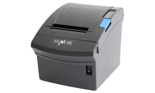 Senor TP250III GTP-250 Receipt Printer, Direct Thermal, Auto-Cutter (USB / USB + Serial Interface / USB + Ethernet/ USB + Parallel)