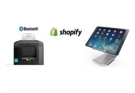 Shopify Bundle No.22 - STAR Bluetooth Printer, iPad Stand - Optional Paper & iPad