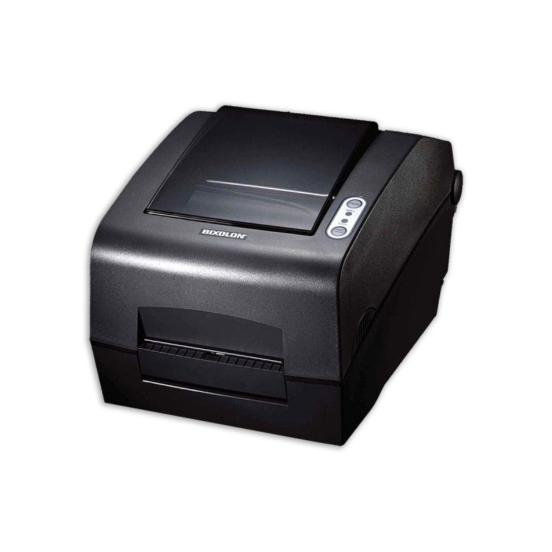 Bixolon SLP-T400 Thermal Label Printer USB, RS232 and Parallel Interface with Auto Cutter, Dark Grey
