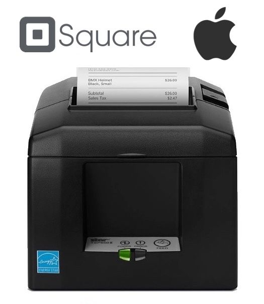 Square Point of Sale iPad Compatible Receipt / Docket Printer (With Autocutter)