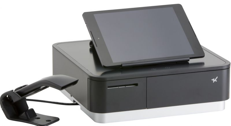 Star Micronics mPOP Advanced All In One POS Solution, with Scanner (Black)