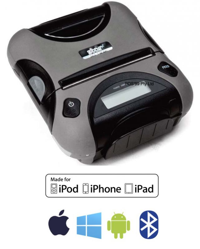 STAR SM-T300i 3 Inch Mobile Printer Bluetooth