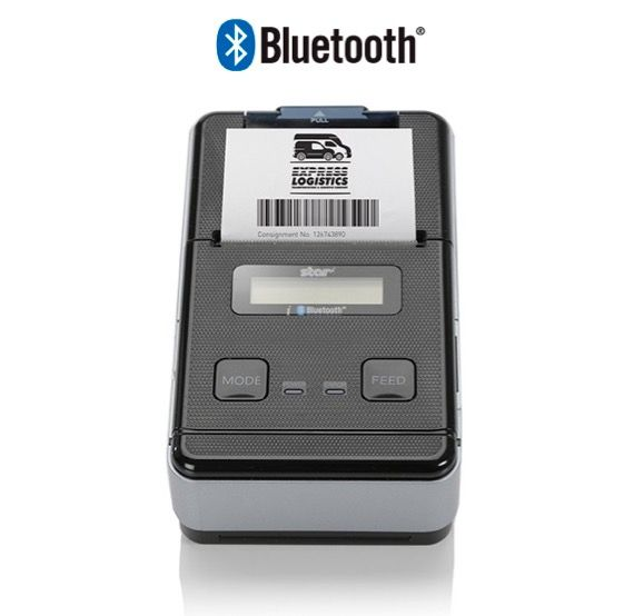 STAR SM-S220i 2 Inch Mobile Printer Bluetooth (Rechargeable battery)
