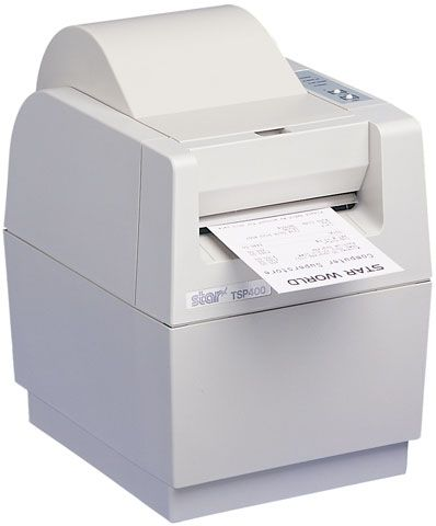 OBSOLETE - STAR TSP442 Ticket Printer With Auto Cutter Parallel White
