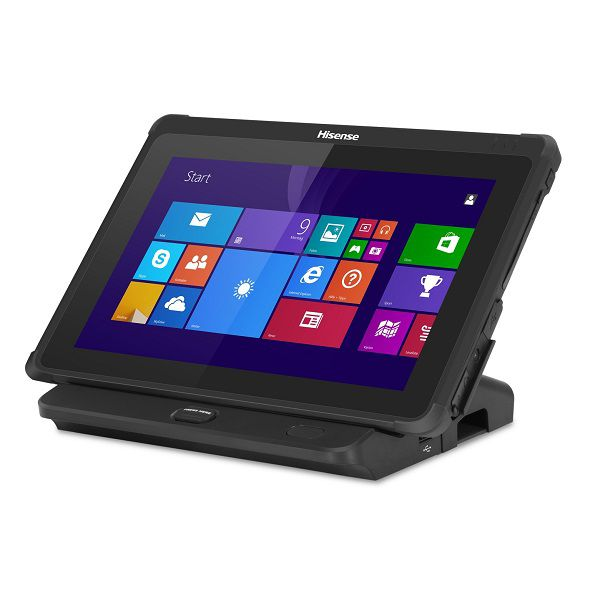 HISENSE HM518 Rugged Tablet / POS Terminal & Docking Station (Ethernet, USB, Serial, VGA and Cash drawer port)
