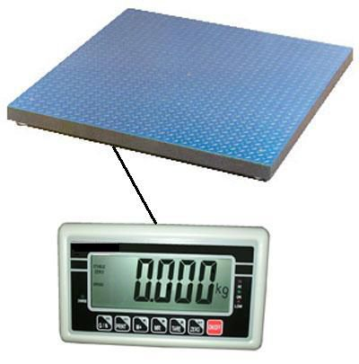 2,000kg Or 3,000kg Floor / Pallet Scale - Trade Approved, BW Indicator and Certified