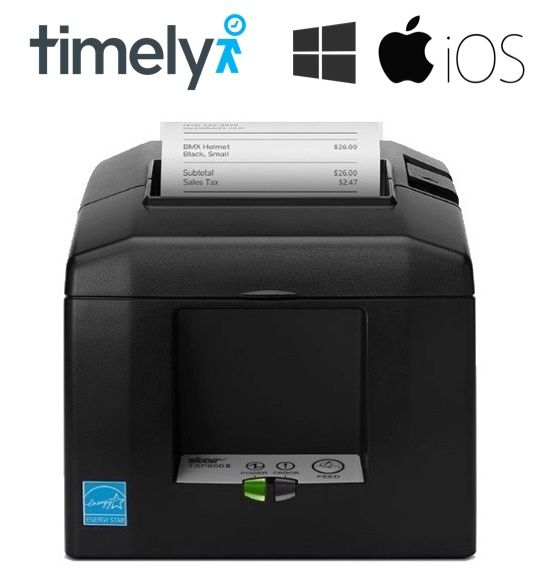 Timely POS Compatible Receipt Printer (With Autocutter)