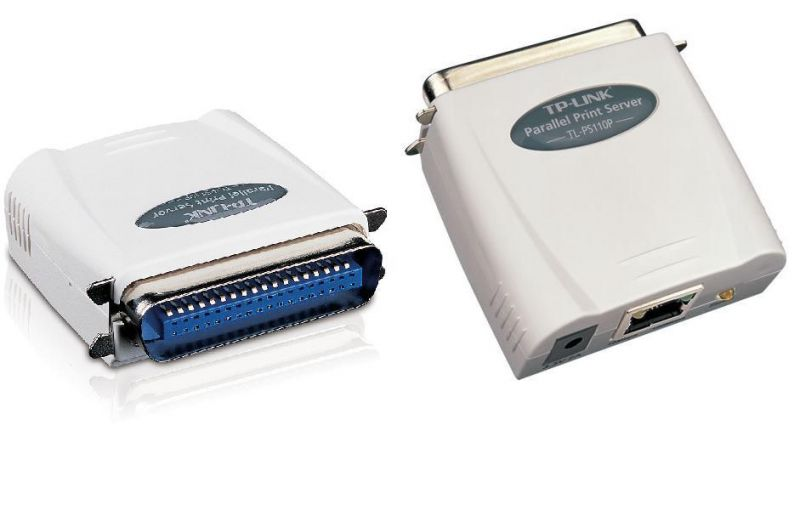 TP-LINK TL-PS110P Single Parallel Port with Fast Ethernet Print Server