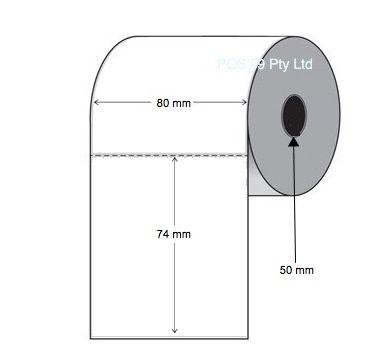 Inkjet Labels 50mm x 70mm (Epson TMC3500) (Select Quantity)