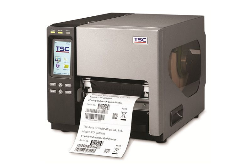 TSC TTP-286MT 6.6 inch 300 dpi Industrial Thermal Transfer Label Printer (USB, Ethernet)  99-135A002-0004 99-141A002-00LF