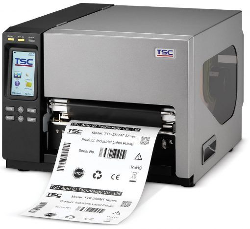 TSC TTP-384MT 8 inch 300 dpi Industrial Thermal Transfer Label Printer  (USB, Ethernet, Serial, Parallel)