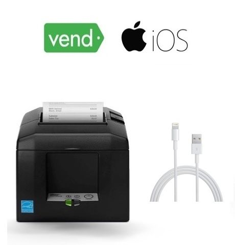 Vend Compatible, Corded, iPad Receipt Printer