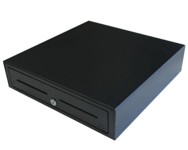 VPOS Cash Drawer EC410 - 5N, 8C, 12V, Black (NOT compatible with mainstream POS Printers)