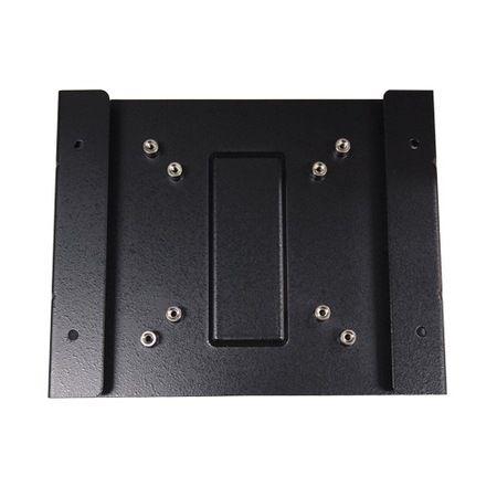 Wall mount bracket with VESA mount