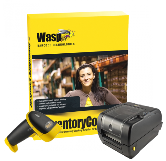 WASP Inventory Software (1 user) + WWS550i Scanner + WPL305 Label Printer 203dpi