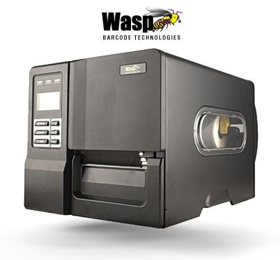 WASP WPL406 4-inch Industrial Barcode Printer 203 dpi (Ethernet, USB and RS232/Serial)