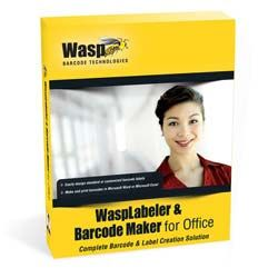 Wasplabeler & Barcode Maker Software for Office (1, 5 or 10 User License)