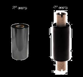 Thermal Transfer Ribbon Wax Resin 55mm x 70m Black (Box of 5)