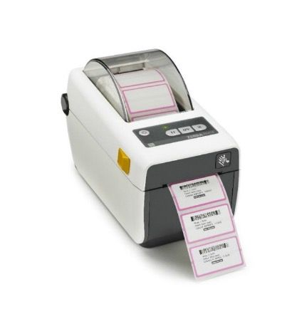 ZEBRA ZD410-HC Healthcare 2-inch Label & Wristband Printer (Select Interface)