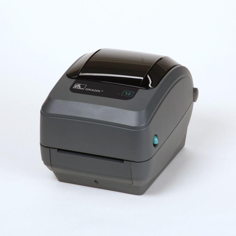Zebra GK420t Thermal Transfer Label Printer - With Peeler Dispenser -  (USB, Ethernet)
