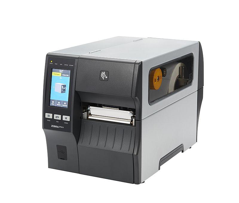 ZEBRA ZT411 Midrange Thermal Transfer Label Printer 203dpi/300dpi USB/ETH/SER/BT/Wifi (Select Interface / Resolution)