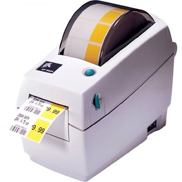 Obsolete   Zebra LP2824 Plus Direct Thermal Label Printer (Replaced by ZD410)