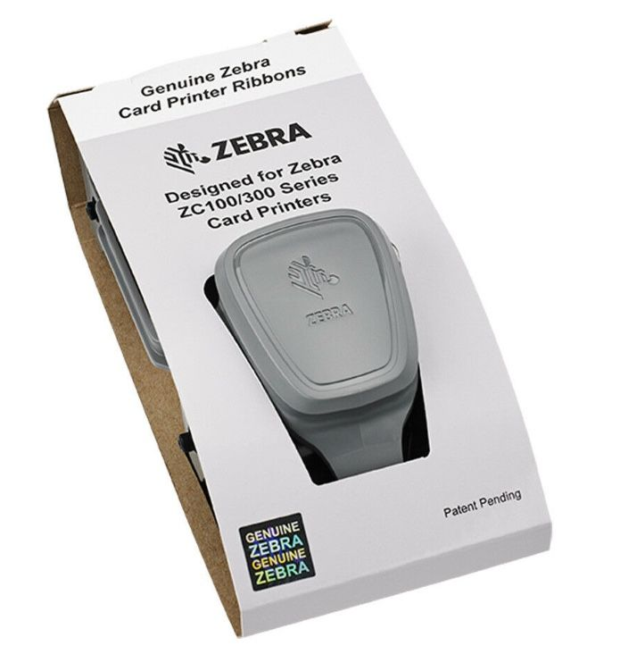 ZEBRA Colour Ribbon YMCKLL for the ZC300 ID Printer - 200 prints