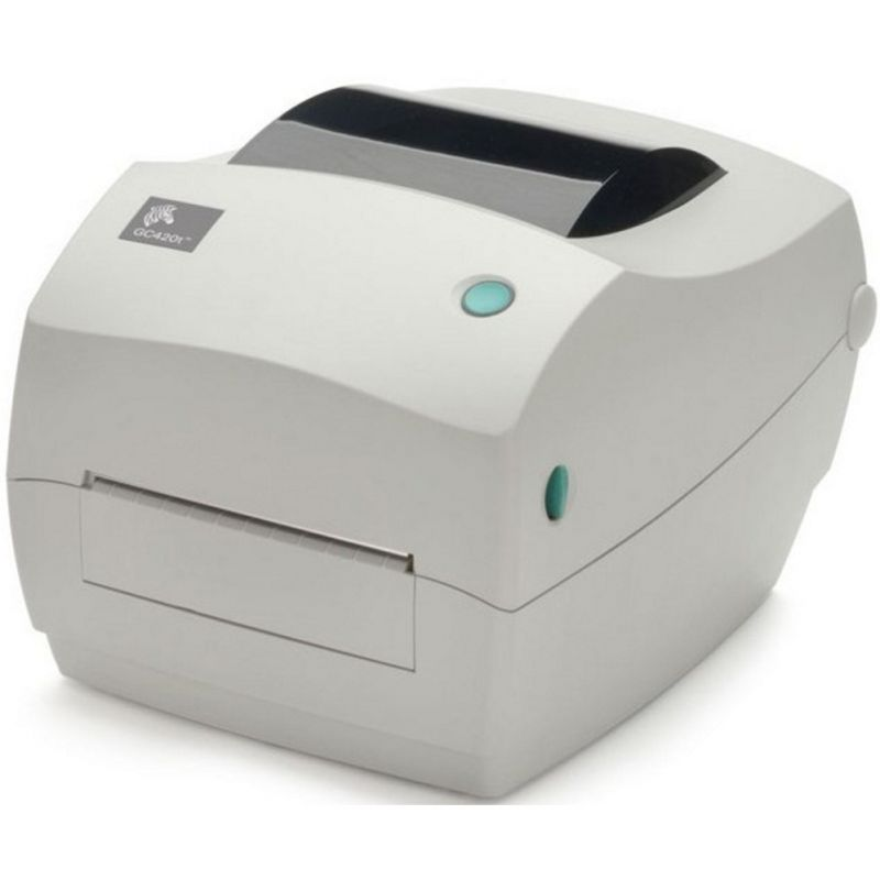 Zebra GC420T - 203 DPI Print Thermal Transfer Label Printer USB Serial Parallel