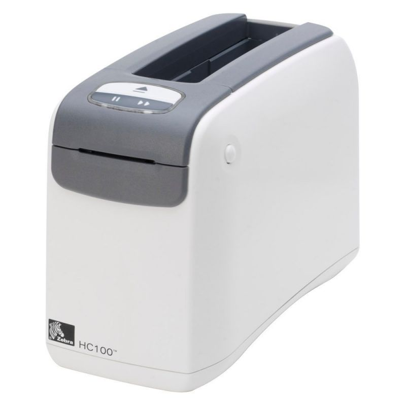 Zebra HC100 Wristband Printer 300DPI DT ZPLII (Select Interface) - OBSOLETE