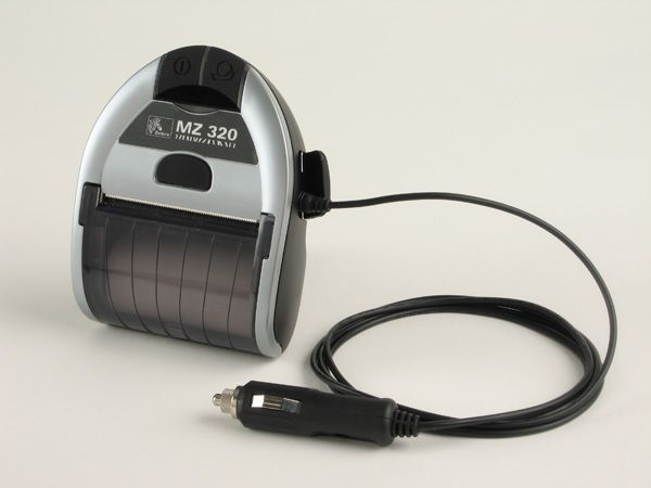 ZEBRA MZ320 mobile cigarette lighter adaptor