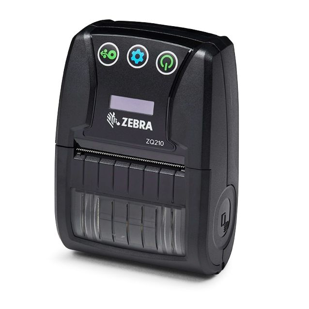 Zebra ZQ210  Mobile Printer 2 Inch Bluetooth - Receipt and Label