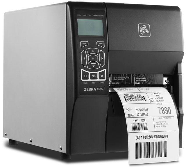 Zebra ZT230 Barcode Label Printer (Select Model)