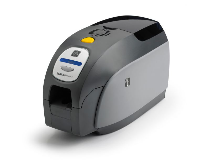 ZEBRA ZXP3 ID Card Printer Single Sided Colour Ethernet
