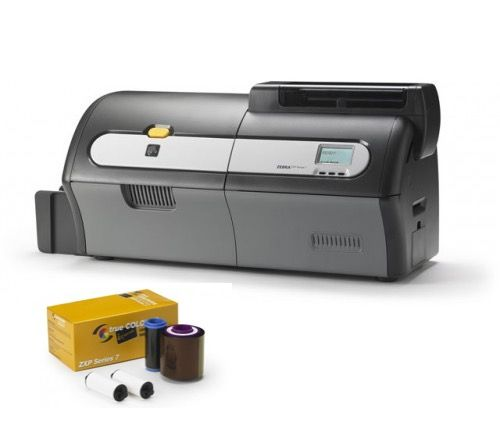ZEBRA ZXP7 ID Card Printer - Single or Dual Sided