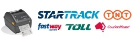 Shipping Label Printers Toll StarTrack TNT